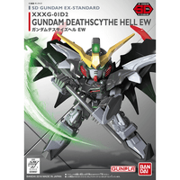 SD EX STANDARD #12 GUNDAM DEATHSCYTHE HELL EW MODEL # BAN5055701 COVER ART
