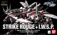 HG Strike Rouge + I.W.S.P Gundam Seed MSV-01 1/144, Model # BAN5059142 cover art