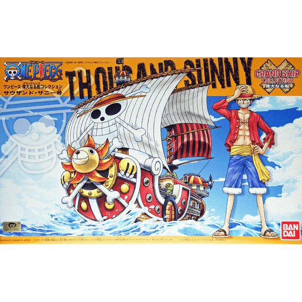Bandai Hobby One Piece Grand Ship Collection - Thousand Sunny, Model # BAS5057426 Cover Art