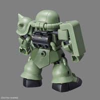 Bandai Hobby Model BAN230353, SD Cross Silhouette #04 MS-06F Zaku II image 2