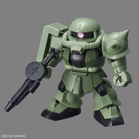 Bandai Hobby Model BAN230353, SD Cross Silhouette #04 MS-06F Zaku II image 1