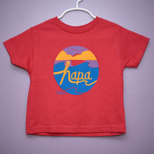 Load image into Gallery viewer, Toddler Hapa Sunset Tee