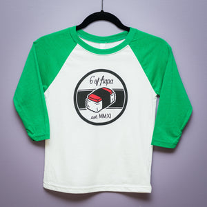 Kid's Musubi Baseball Tee