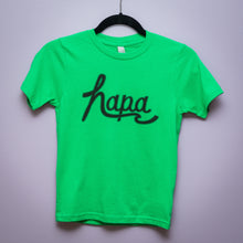 Load image into Gallery viewer, Kid's Hapa Script Tee