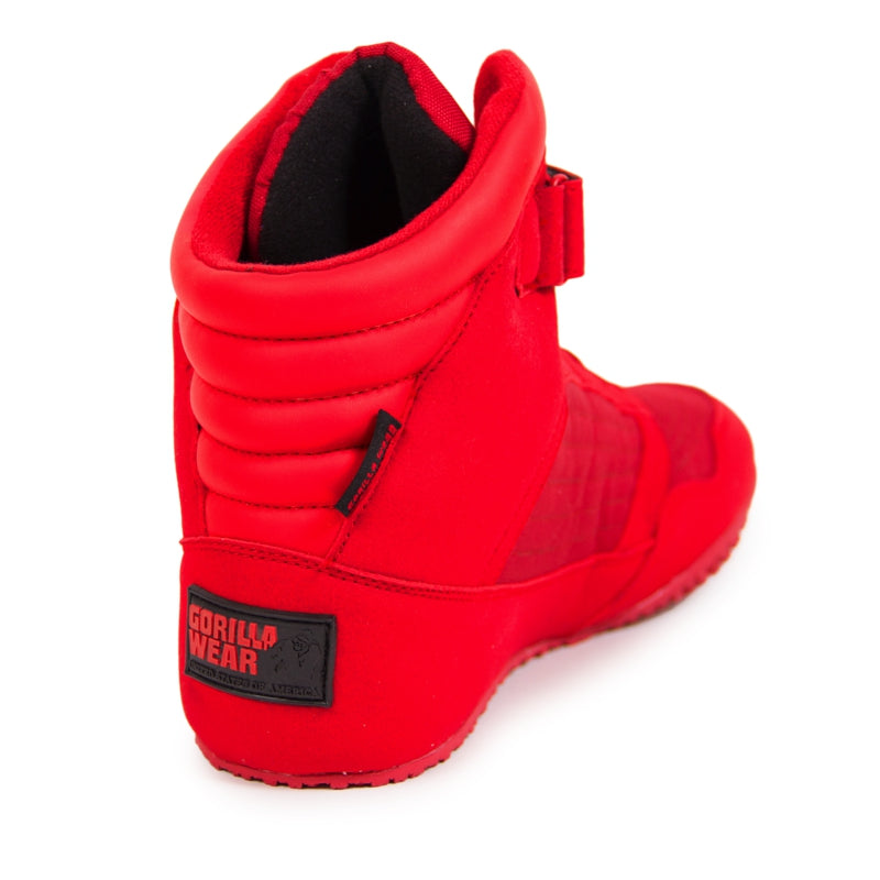 Gorilla Wear High Tops Red