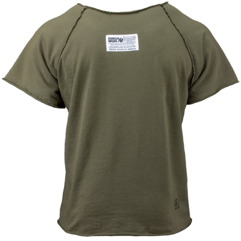 Classic WorkOut Top - ArmyGreen
