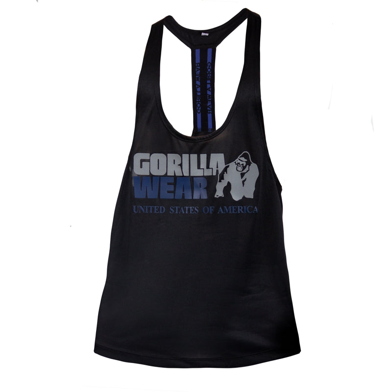 Nashville Tank Top -Black/Navy