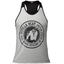 Roswell Tank Top -Gray/Black