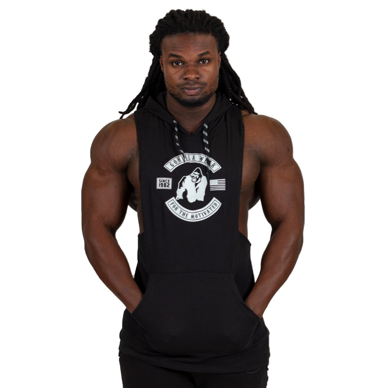 Lawrence Hooded Tank Top - Black