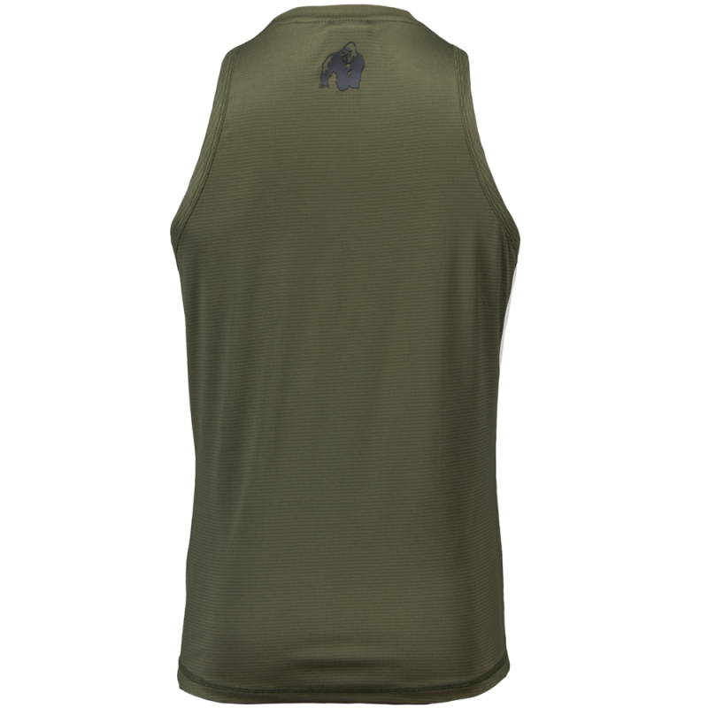 BRANSON TANK TOP - ARMY GREEN/BLACK