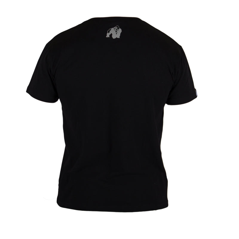 Sacramento V- Neck T-Shirt Black/Red