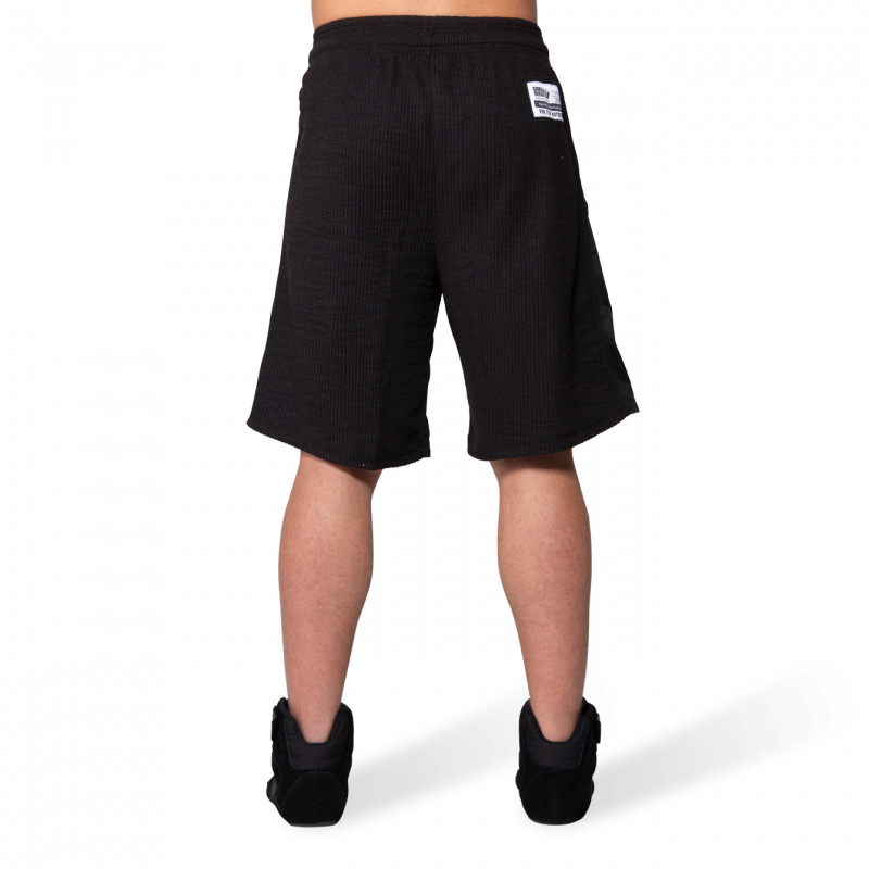 Augustine Old School Shorts - Black