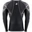 LANDER RASHGUARD LONG SLEEVES - BLACK/GRAY CAMO