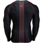 Hayden Compression Long Sleeve - Black/Red