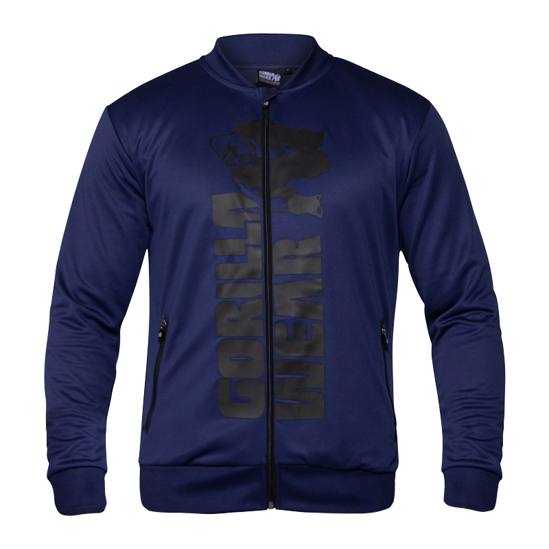 BALLINGER TRACK JACKET - NAVY BLUE/BLACK