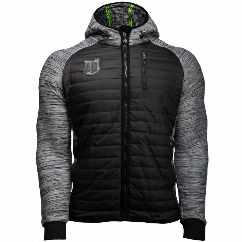 Paxville Jacket - Black/Gray