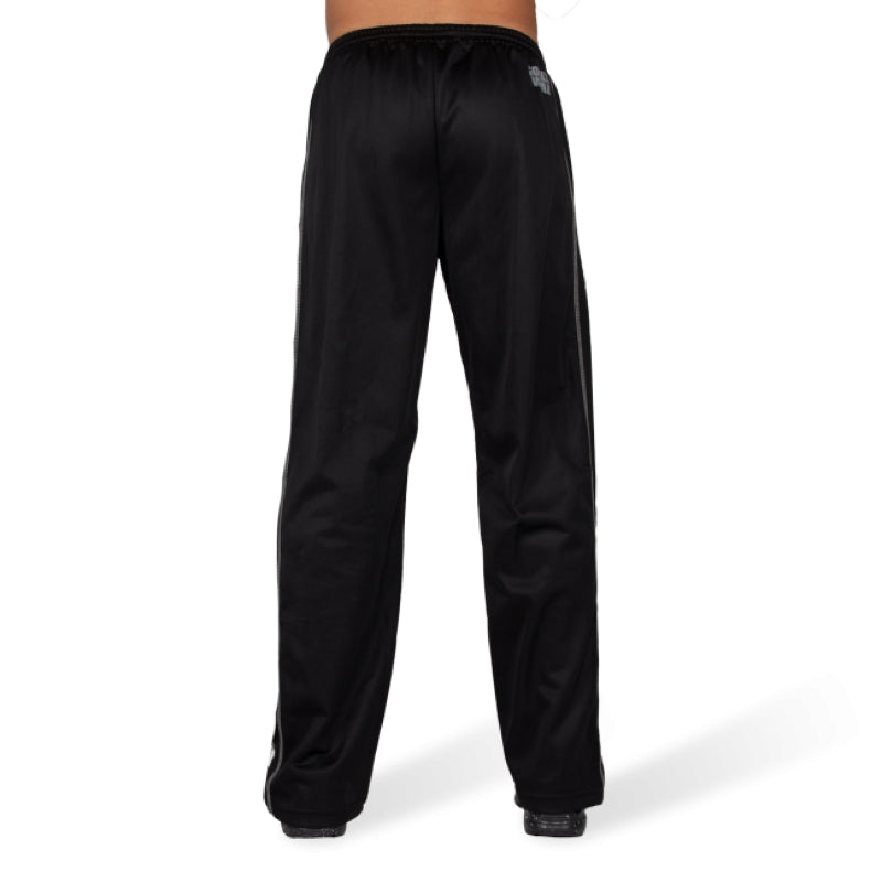 Functional mesh pants-Black/White