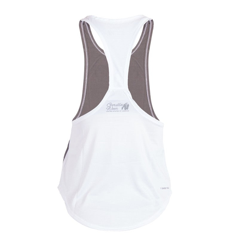 FLORIDA STRINGER TANK TOP - GRAY/WHITE