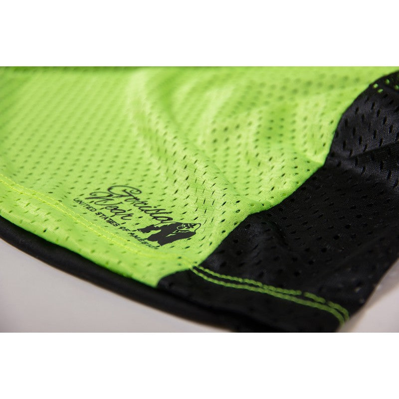 MARIANNA TANK TOP - BLACK/ NEON LIME
