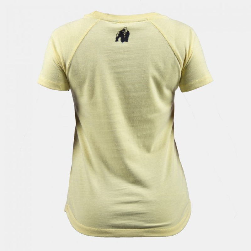 Lodi T-shirt - Light Yellow