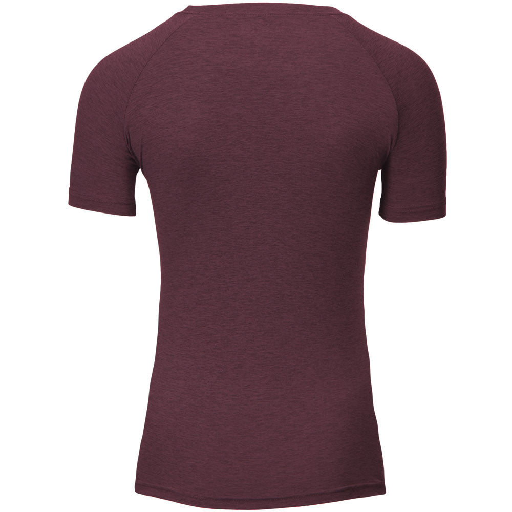 Holly T-shirt -Burgundy Red