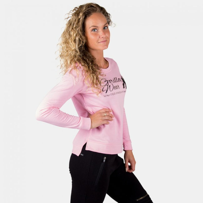 Riviera Sweatshirt -Light Pink