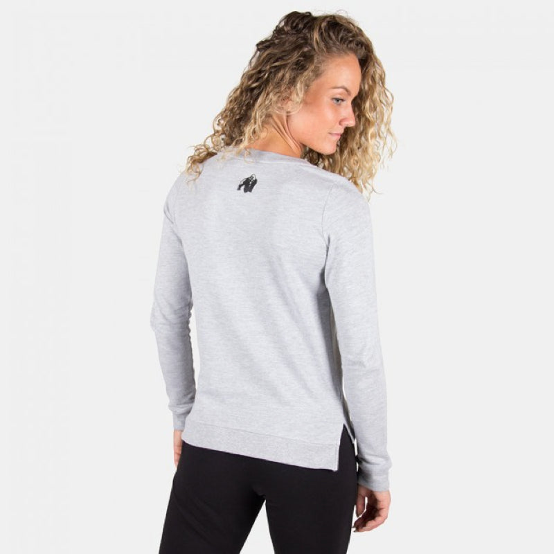 Riviera Sweatshirt -Light Gray