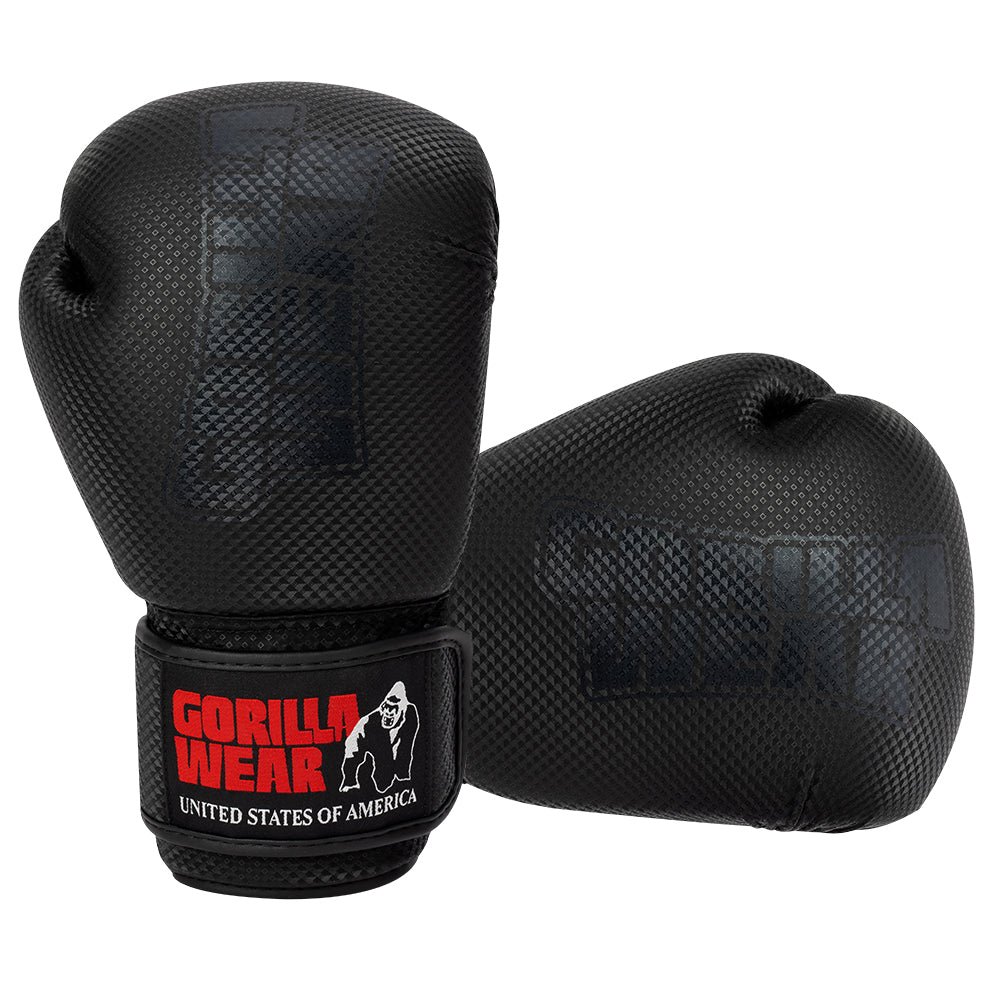 Montello Boxing Gloves - Black