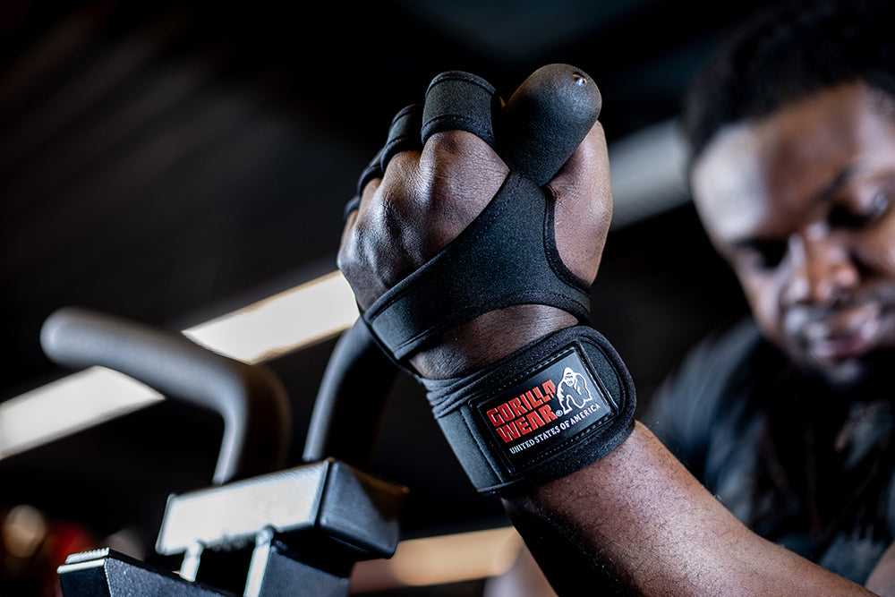 Yuma Weight Lifting Workout Gloves -Black