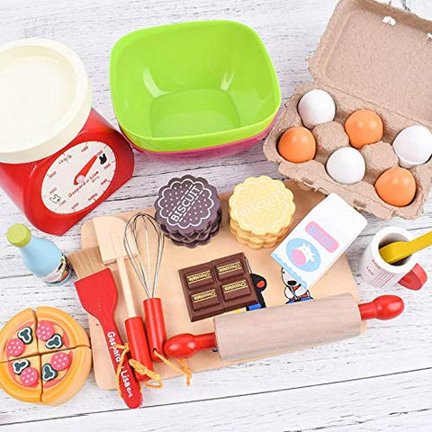 Wooden Baking Set (22 pieces)