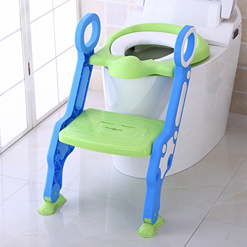 Toilet Training Seat with Step Ladder