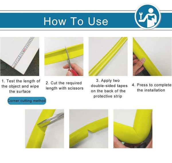 Baby Proofing Safety Edge Strips