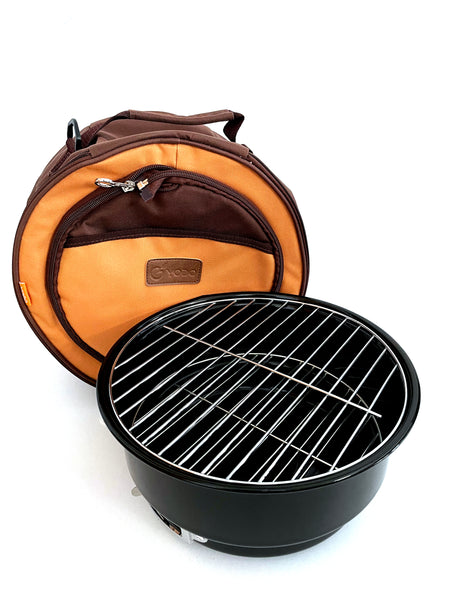 Outdoor Portable BBQ Set with Cooler Bag