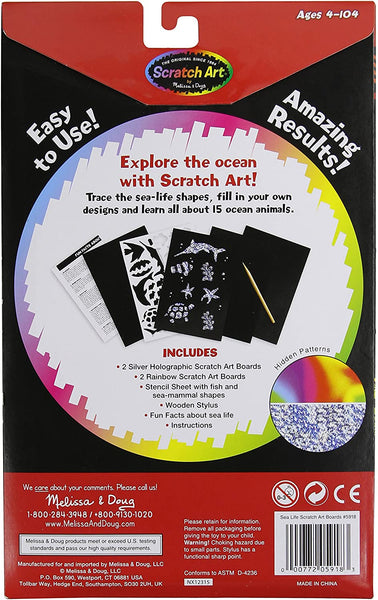 Scratch Art Boards