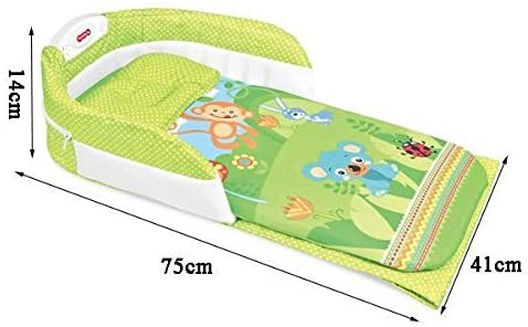 Baby Foldable Portable Travel Light and Sounds Bed