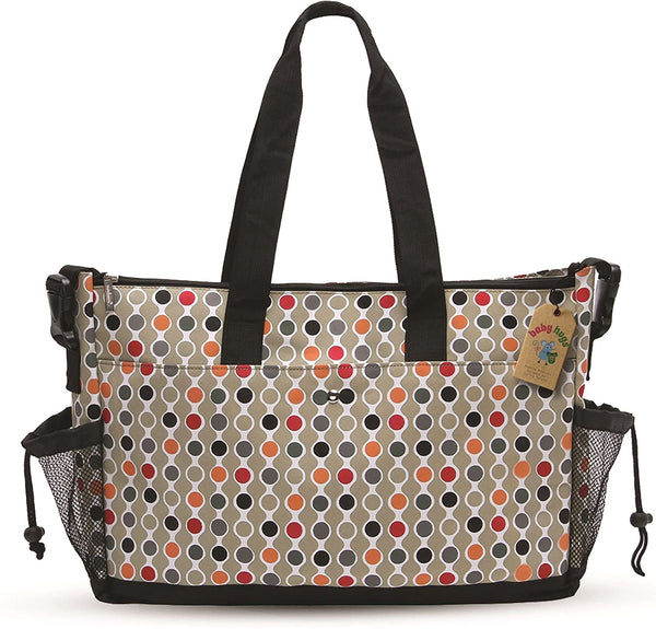 Colourful Dots Tote Baby Changing Bag