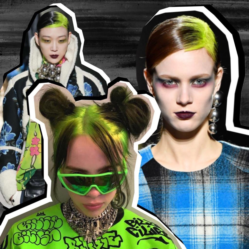 Billie Eilish's Green Roots Were the Biggest Trend At Fashion Week