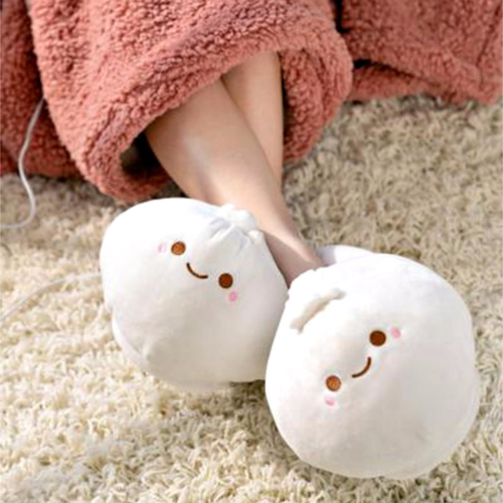 -ITEM OF THE WEEK- Heated Dumpling Slippers Are Here