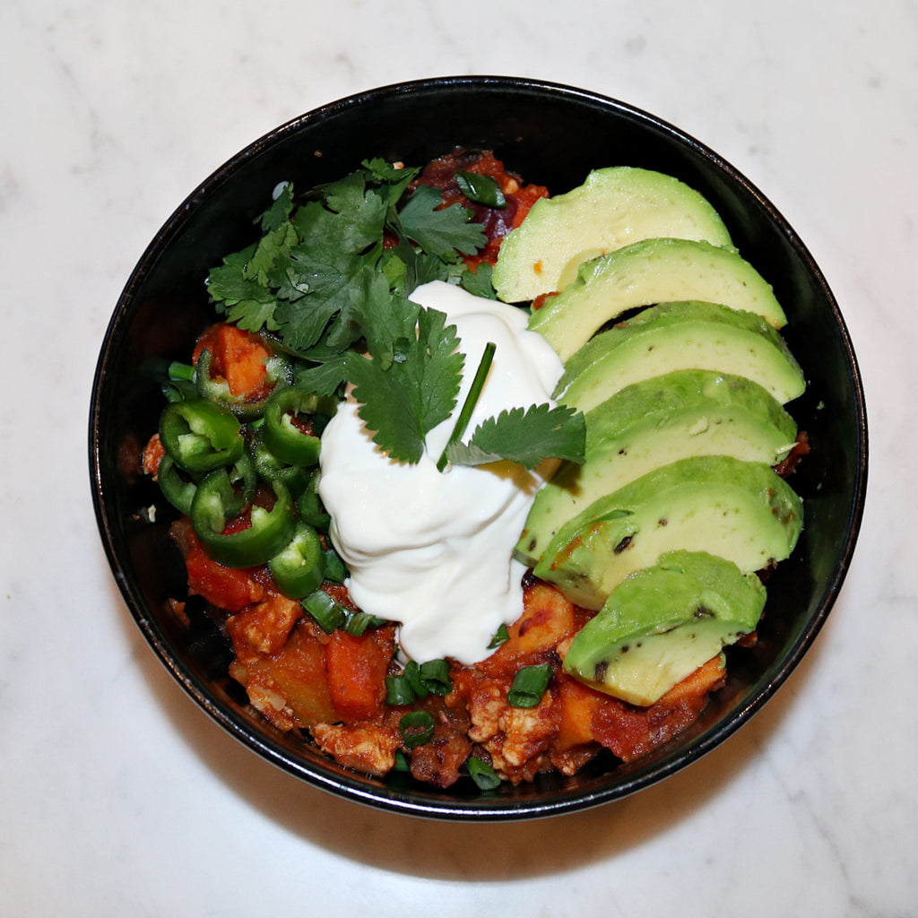Loaded Veggie Chili