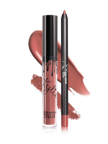 Bare – Velvet Lip Kit, Kylie Cosmetics | 27USD