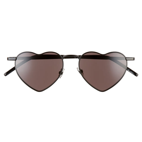 Loulou Heart Shaped Sunglasses, Saint Laurent | 270USD