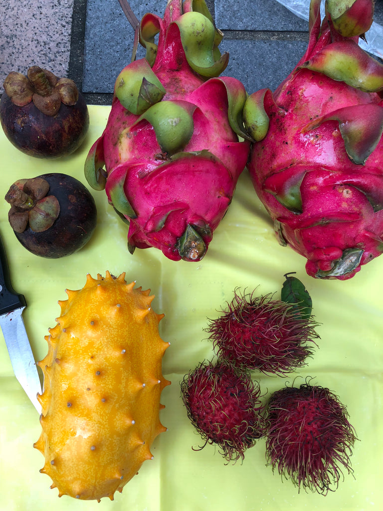 Some exotic fruit I found in the fruit market