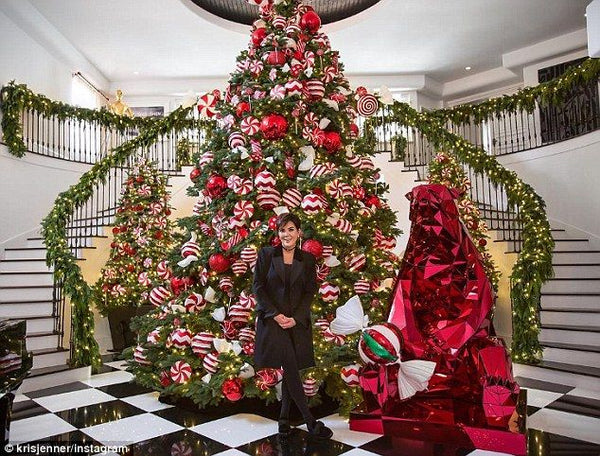 Kris Jenner Holiday Decor