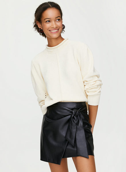 WILFRED WRAP FRONT SKIRT