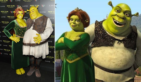 (Left) AboutHer (Right) Shrek Artwork