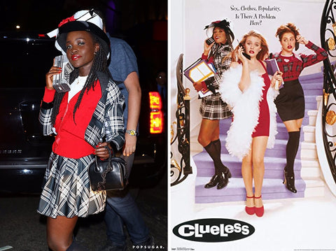 (Left) Popsugar  (Right) Clueless Movie Poster