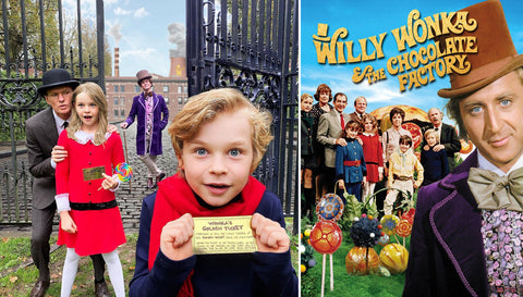 (Left) Instagram @nph (Right) Willy Wonka & The Chocolate Factory Movie Poster