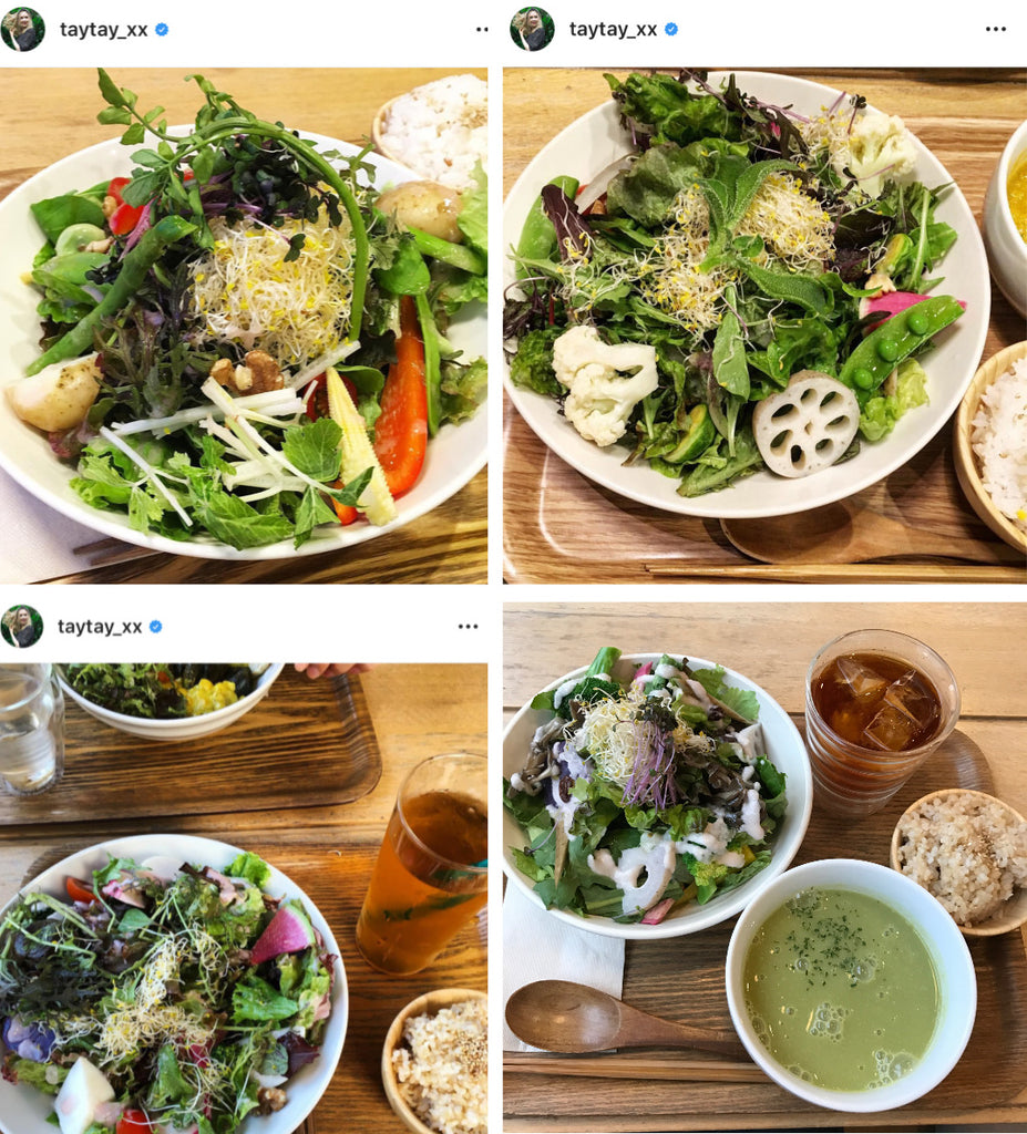 Sincere Garden Salad- I've had this salad so many times and it's always slightly different.