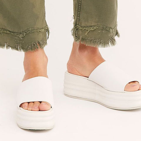 Harbor Flatform Sandals | free people 98USD