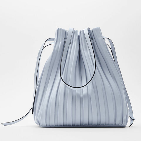 Pleated Bucket Bag | ZARA 29.90USD